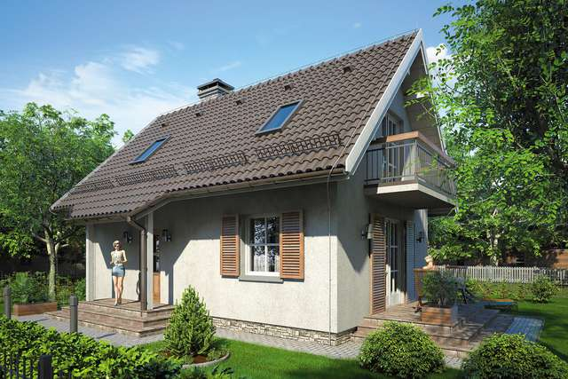 Projekt domu Miodek