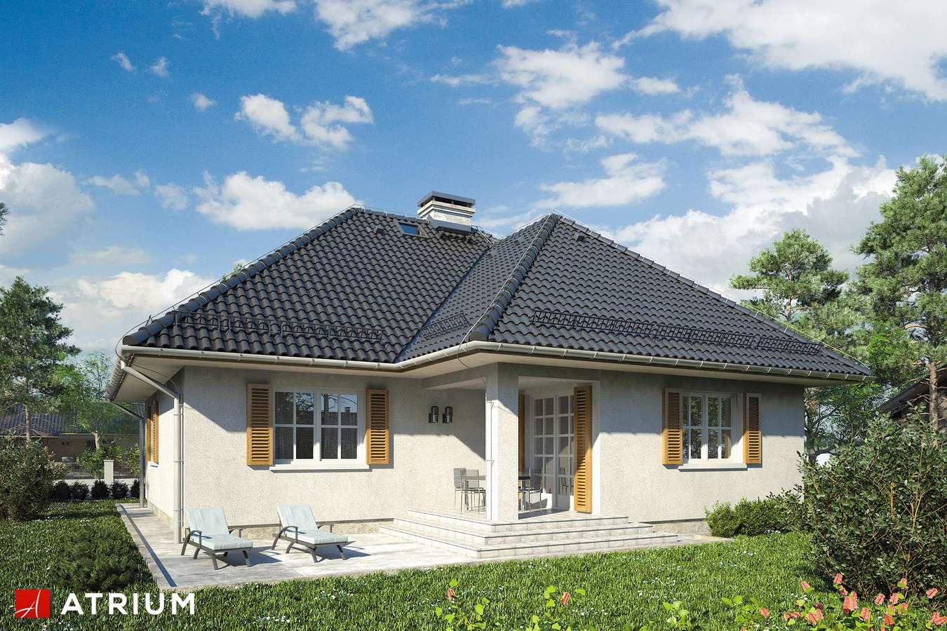 Projekt domu parterowego KACPER - wizualizacja 2