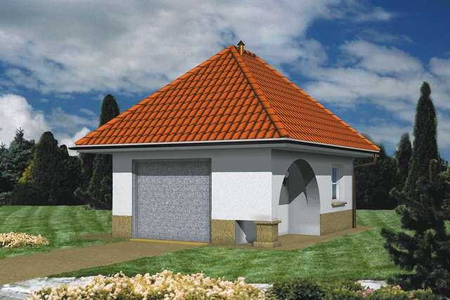 Projekt garażu Z 2