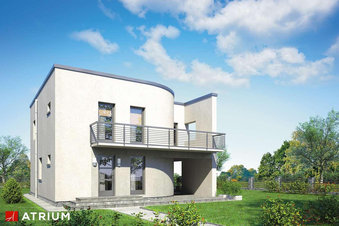 Projekt domu piętrowego WILLA MARIA - wizualizacja 1