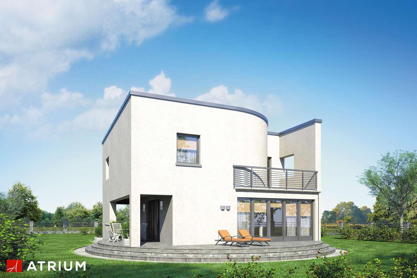 Projekt domu piętrowego WILLA MARIA - wizualizacja 2