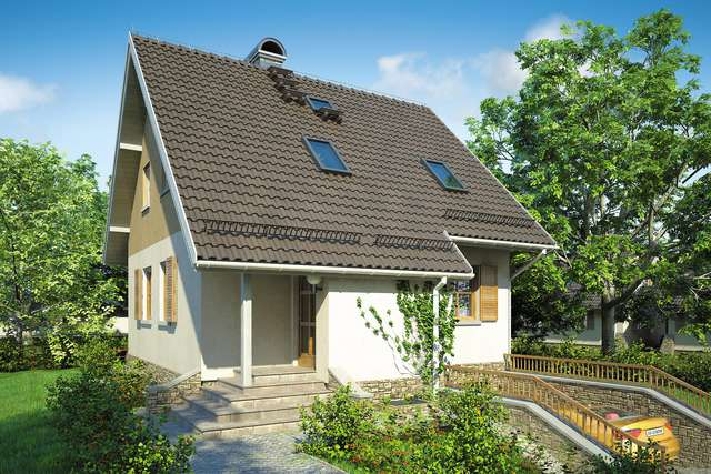 Projekt domu Mikołajek