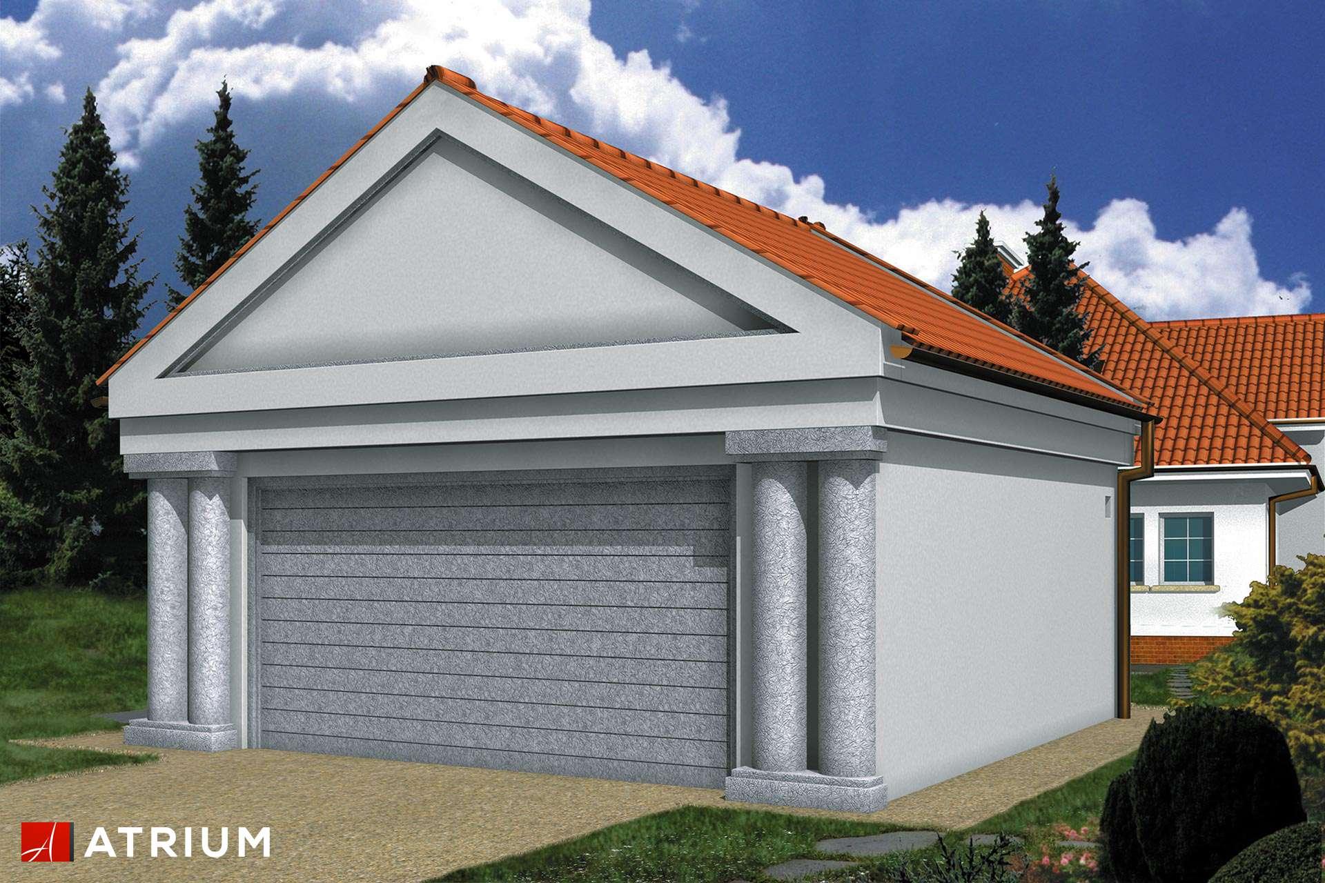 Projekt Garażu Z 3 Garaż Dwustanowiskowy Parterowy