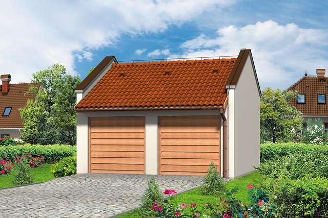 Projekt garażu Z 12