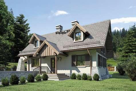 Projekt domu Harnaś