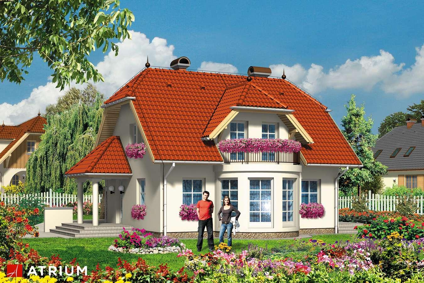 Projekty domów - Projekt domu z poddaszem BARTEK - wizualizacja 1