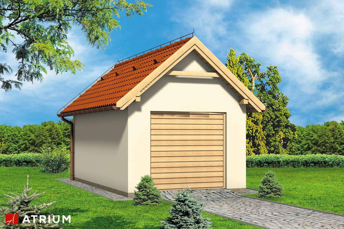 Garaż Z 5 - wizualizacja 1