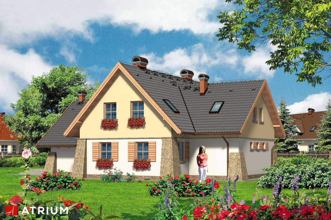 Projekty domów - Projekt domu z poddaszem VIVALDI - wizualizacja 2