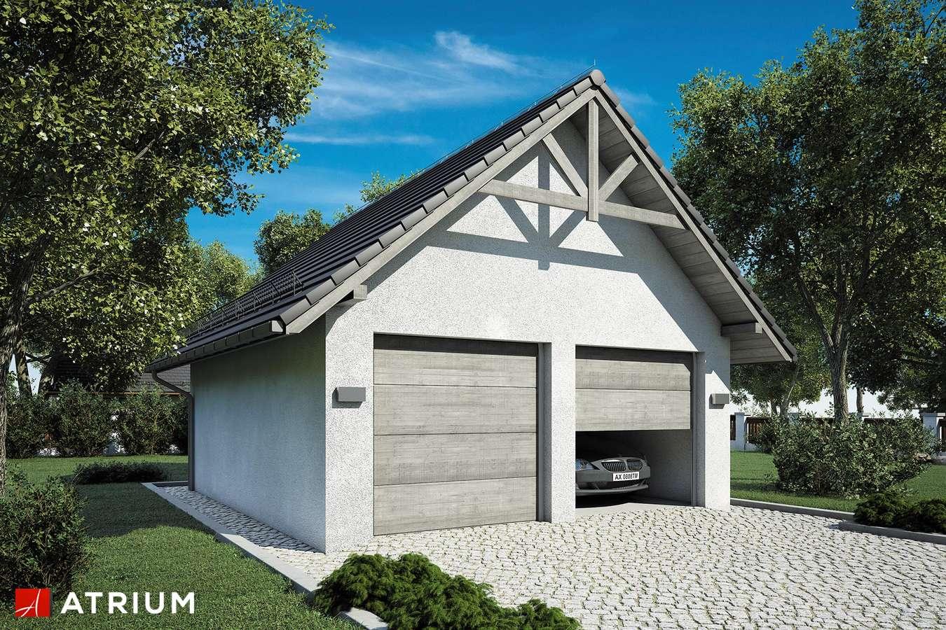 Garaż Z 6 - wizualizacja 1