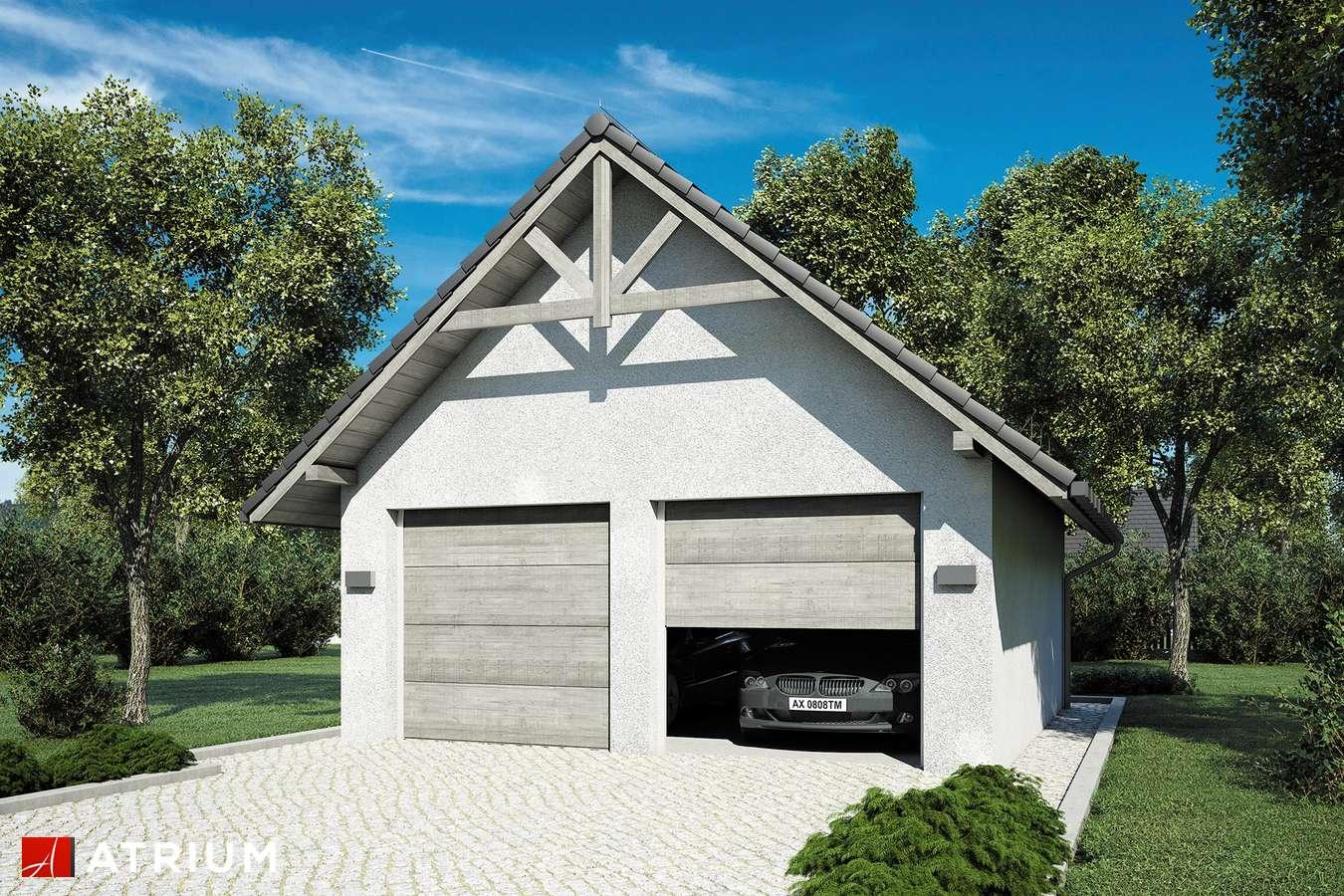 Garaż Z 6 - wizualizacja 2