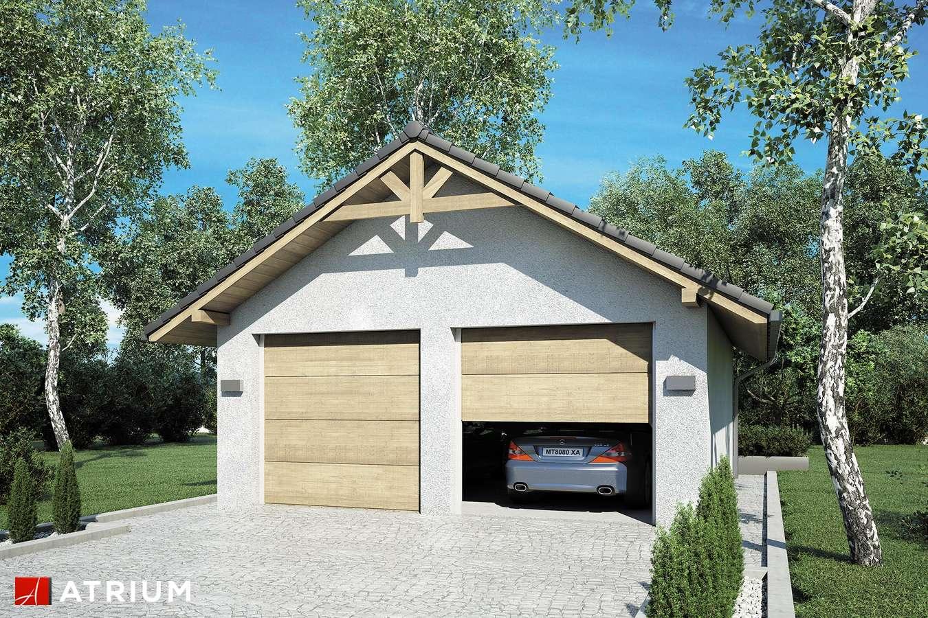 Garaż Z 8 - wizualizacja 2