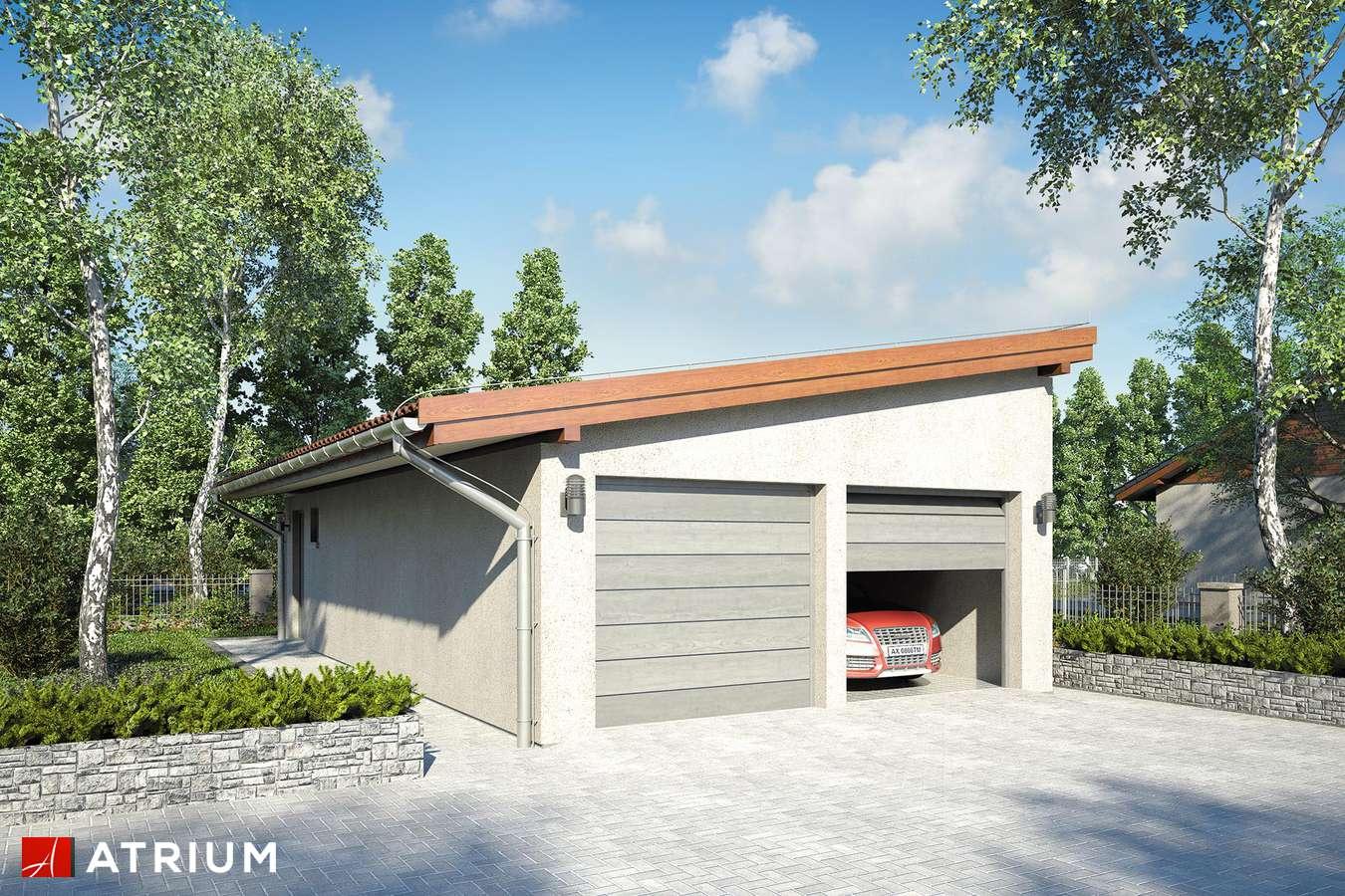 Garaż Z 15 - wizualizacja 1