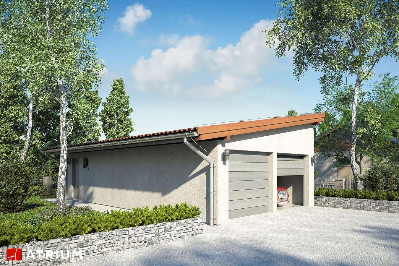 Garaż Z 15 - wizualizacja 2