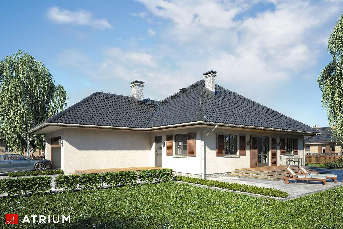 Projekt domu parterowego GAWRA - wizualizacja 2