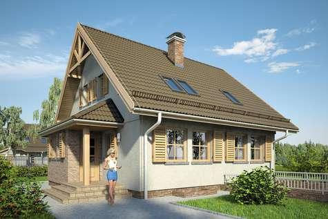 Projekt domu Radość