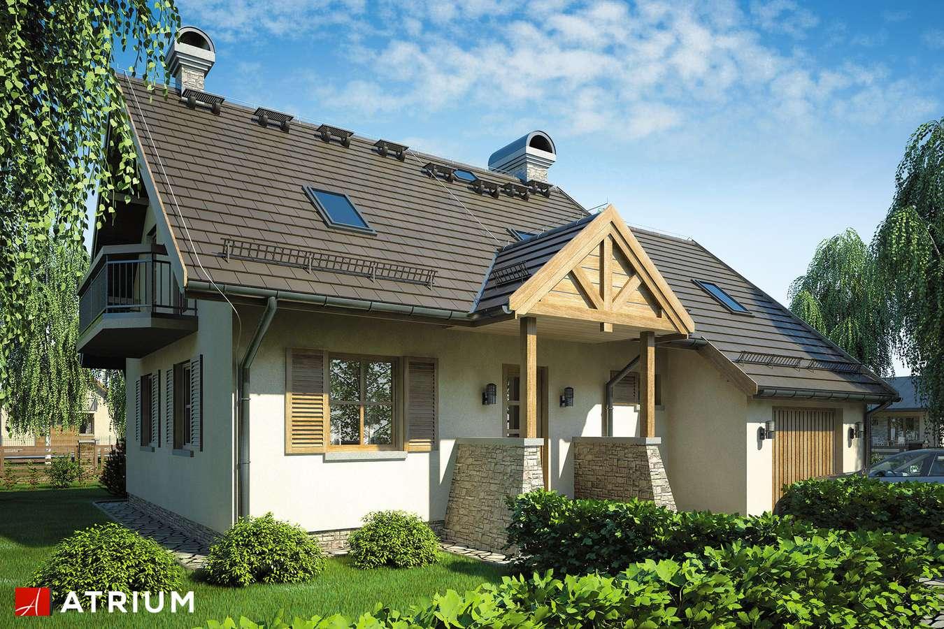 Projekty domów - Projekt domu z poddaszem WALCZYK - wizualizacja 1