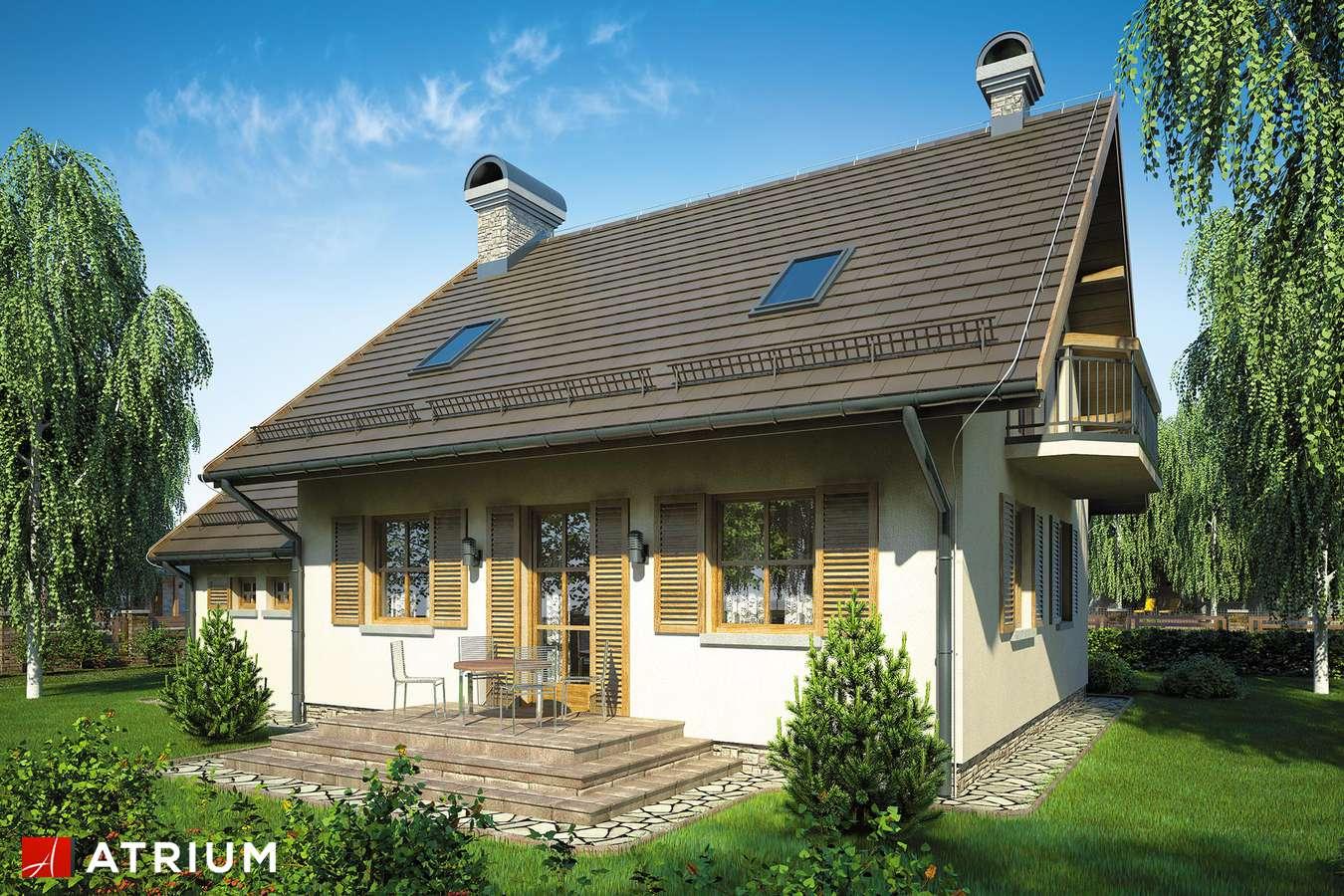 Projekty domów - Projekt domu z poddaszem WALCZYK - wizualizacja 2