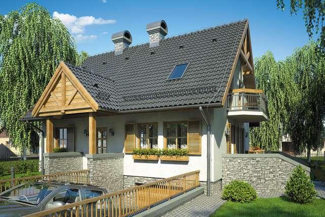 Projekt domu Rumiankowa Chata