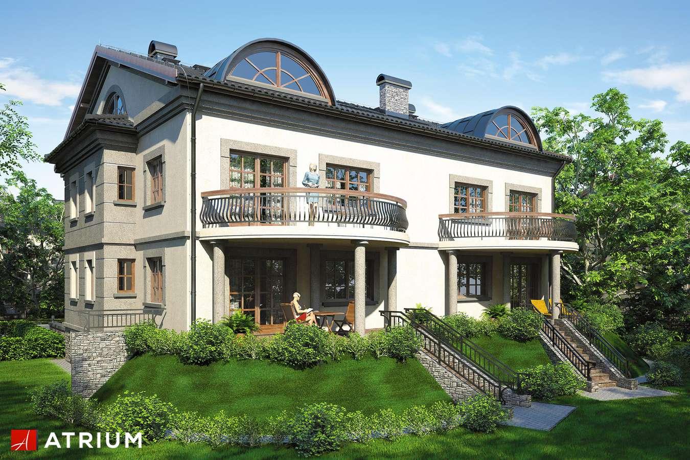 Projekty domów - Projekt domu z poddaszem QUATTRO - wizualizacja 2