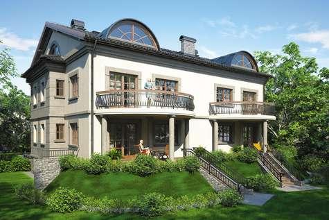 Projekt domu z poddaszem QUATTRO - wizualizacja 2