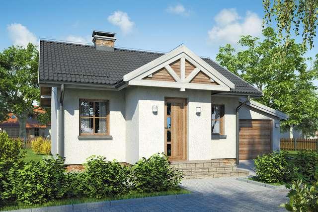 Projekt domu Gniazdko
