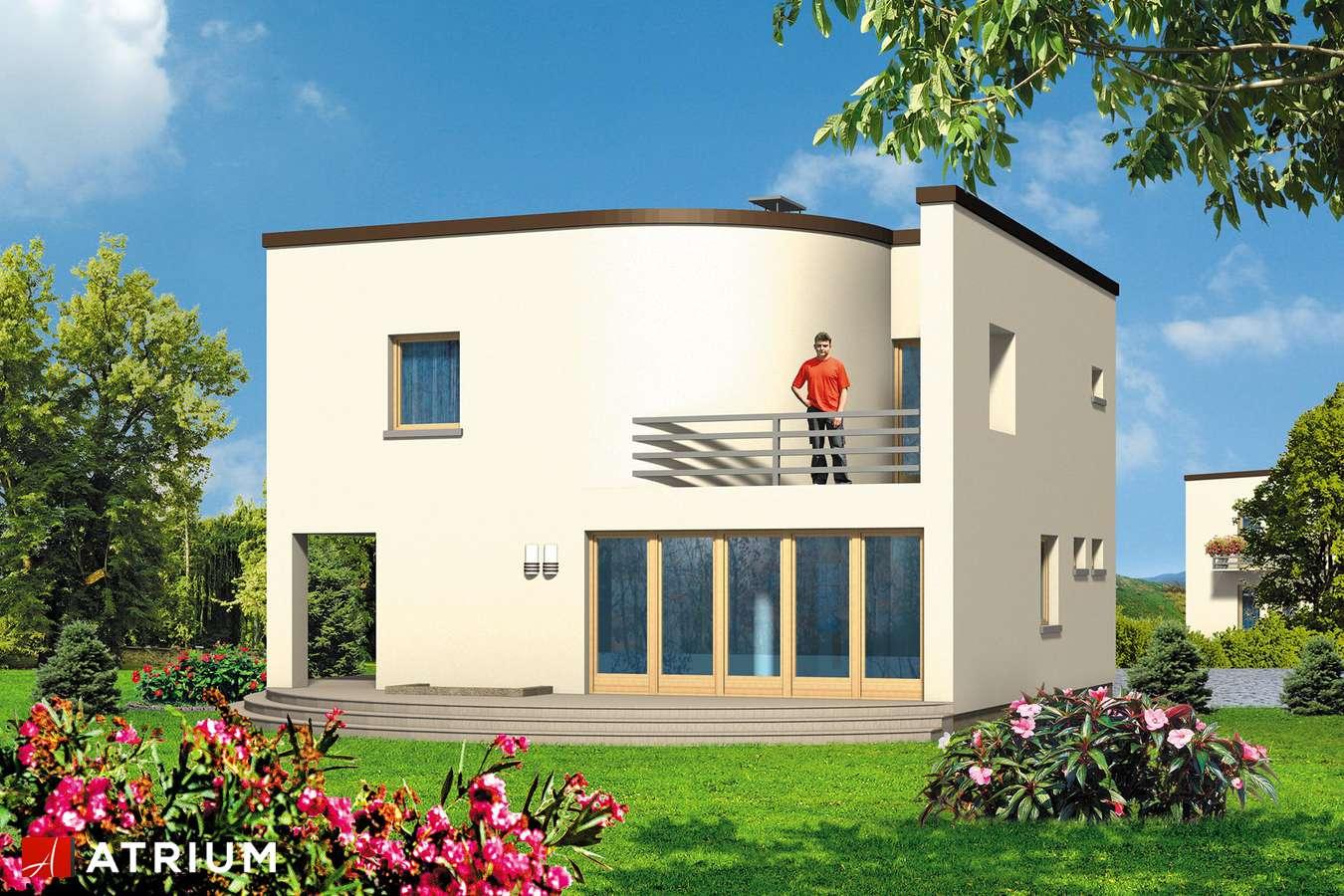 Projekty domów - Projekt domu piętrowego WILLA MARION - wizualizacja 2