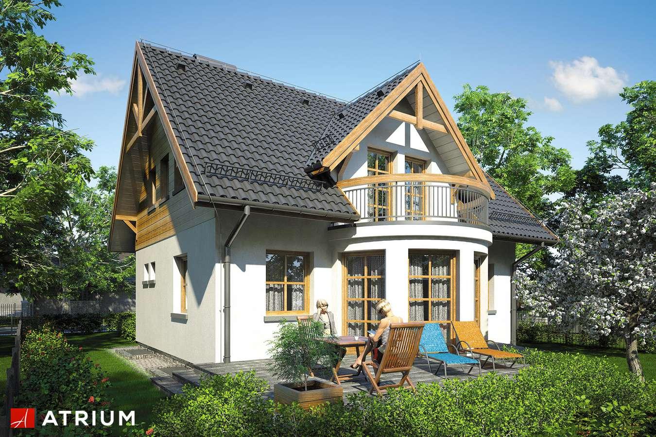 Projekty domów - Projekt domu z poddaszem BARTłOMIEJ - wizualizacja 2