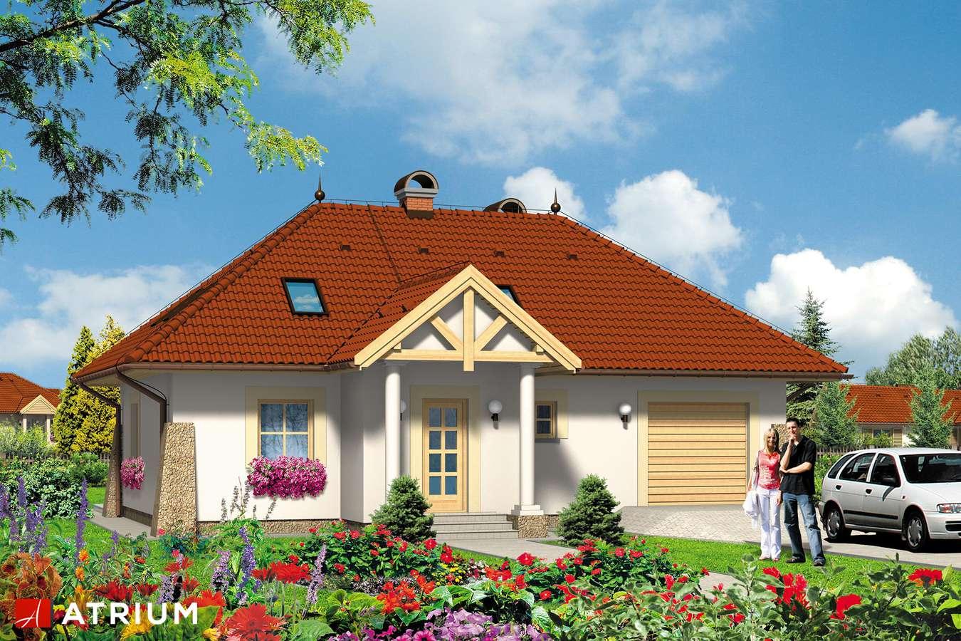 Projekty domów - Projekt domu z poddaszem DżOKER - wizualizacja 1