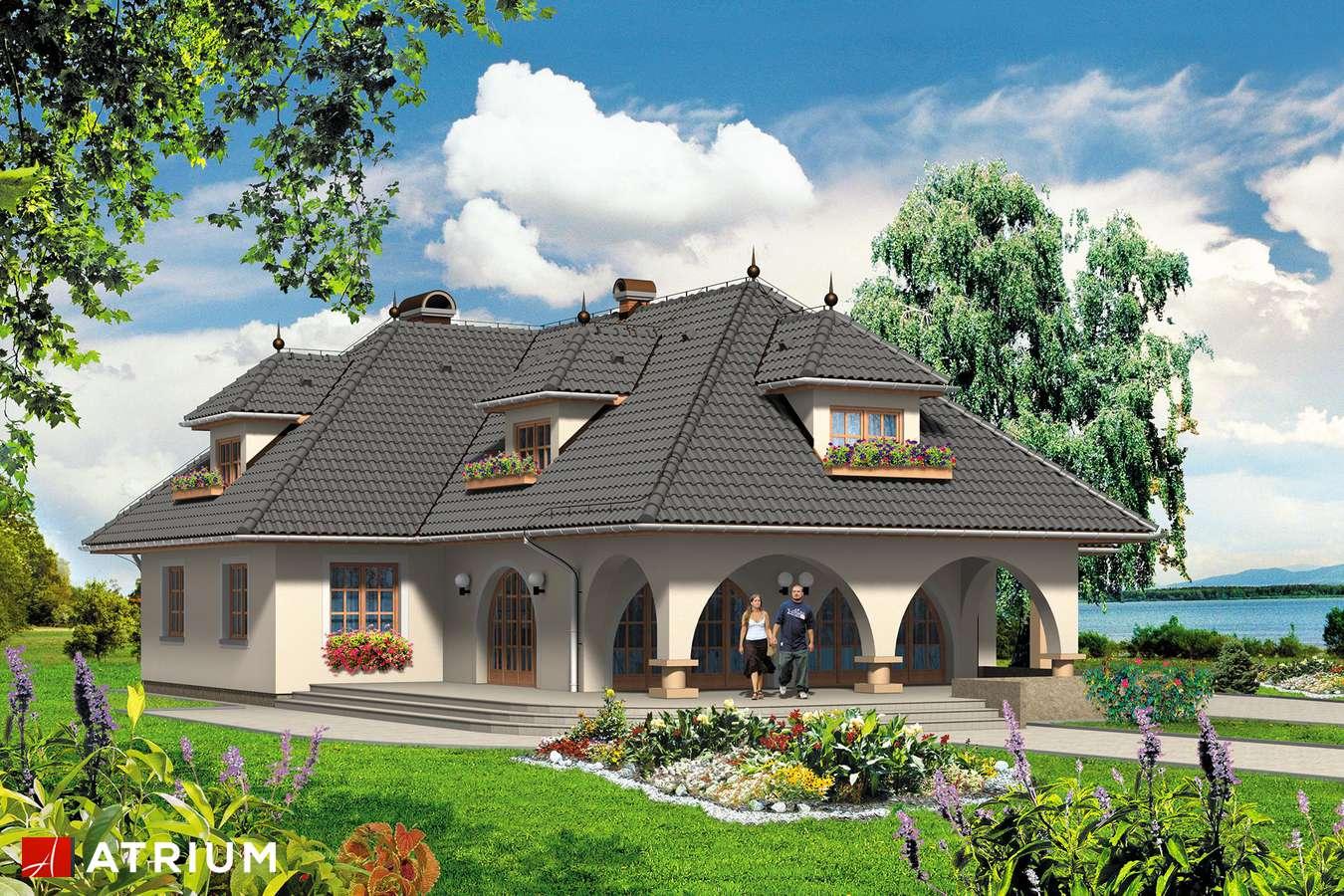 Projekty domów - Projekt domu z poddaszem BRYLANT - wizualizacja 1