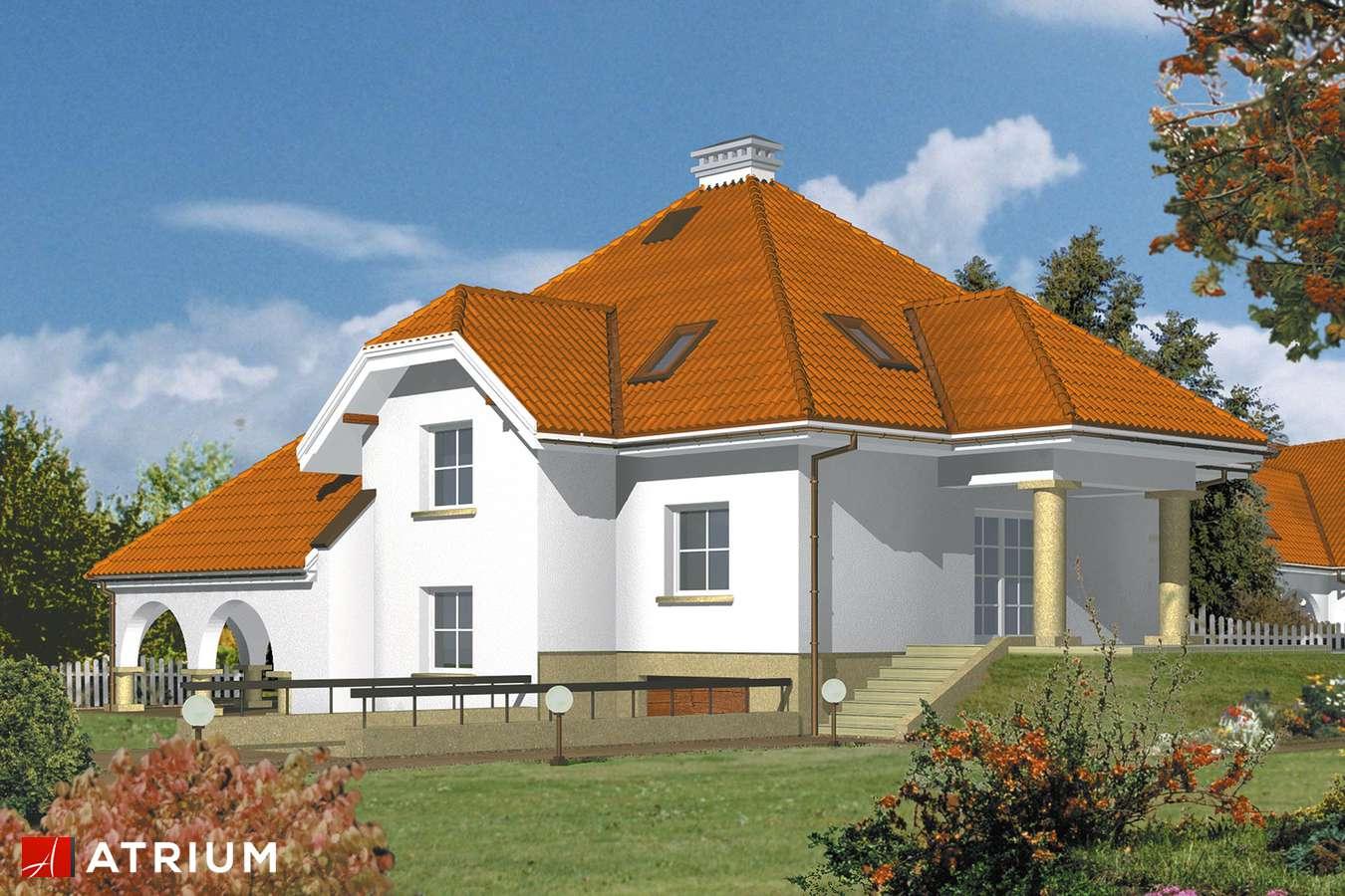 Projekty domów - Projekt domu z poddaszem SZMARAGD - wizualizacja 2