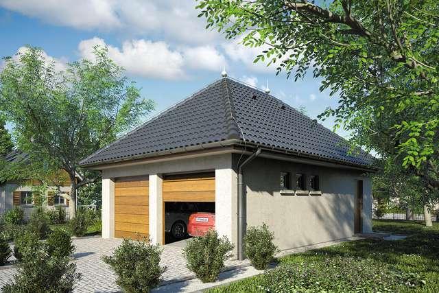 Projekt garażu Z 18