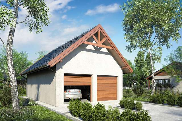 Projekt garażu Z 19