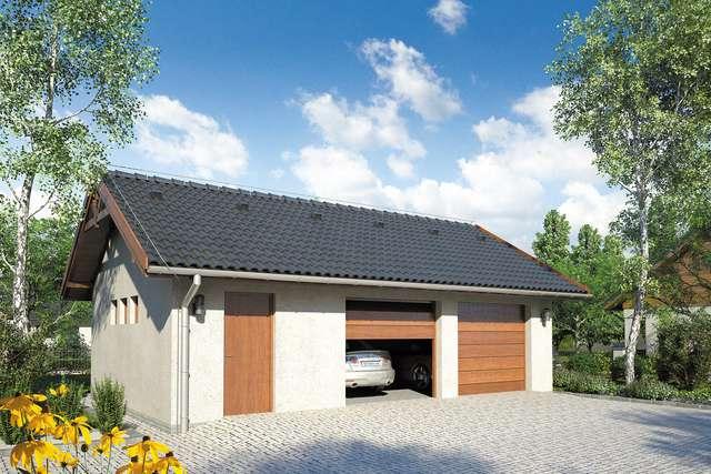 Projekt garażu Z 22