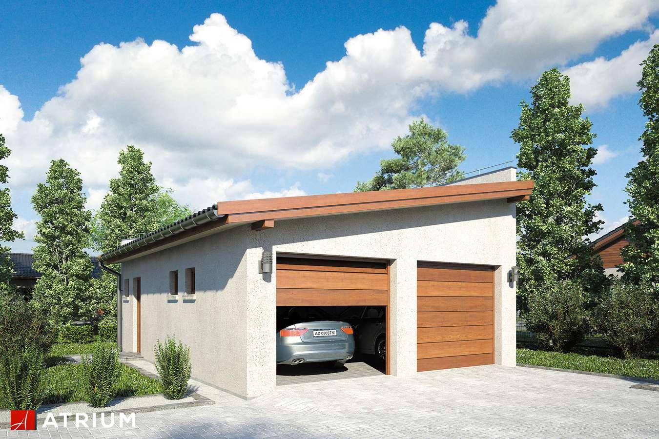 Garaż Z 23 - wizualizacja 1