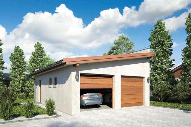 Projekt garażu Z 23