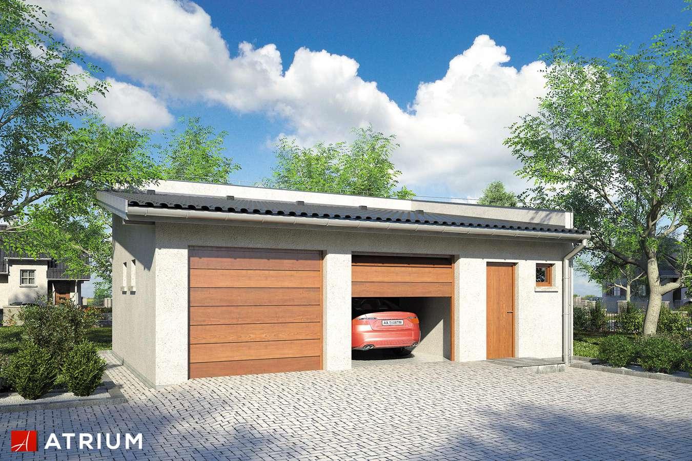 Garaż Z 24 - wizualizacja 1