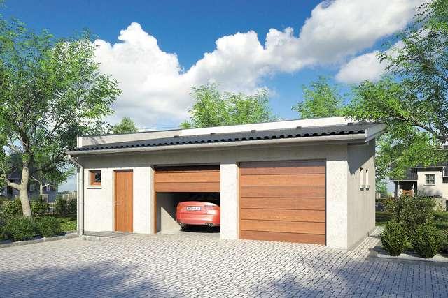 Projekt garażu Z 24
