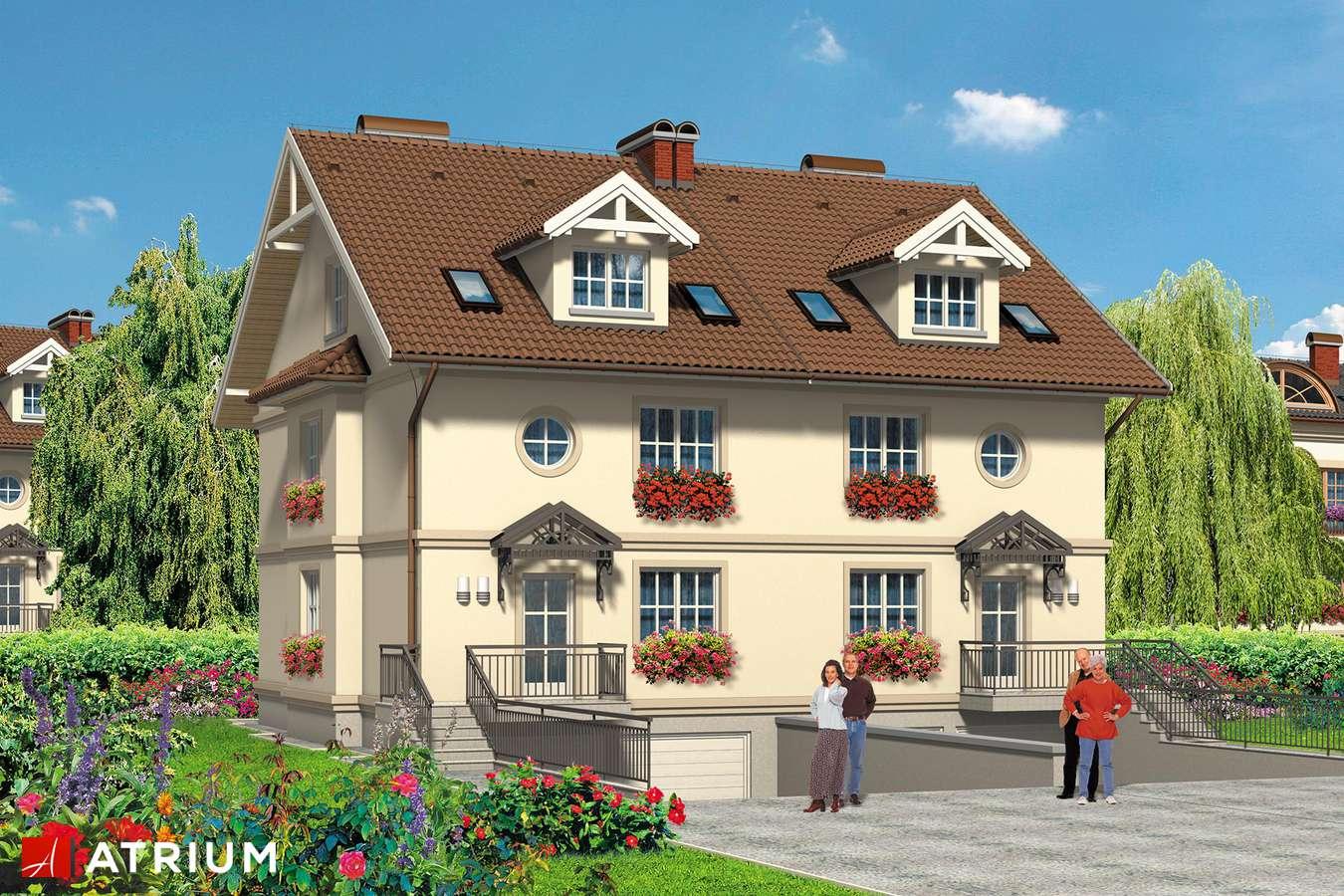 Projekty domów - Projekt domu z poddaszem 4YOU - wizualizacja 1