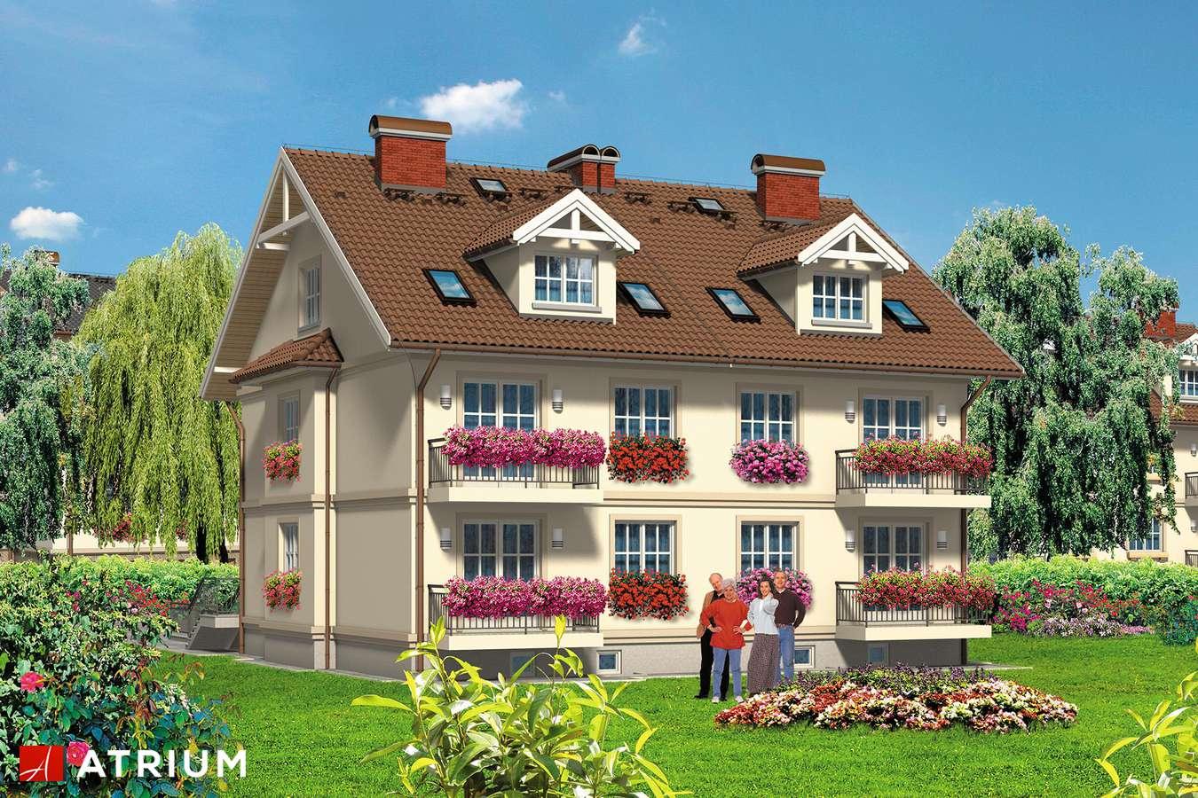 Projekty domów - Projekt domu z poddaszem 4YOU - wizualizacja 2