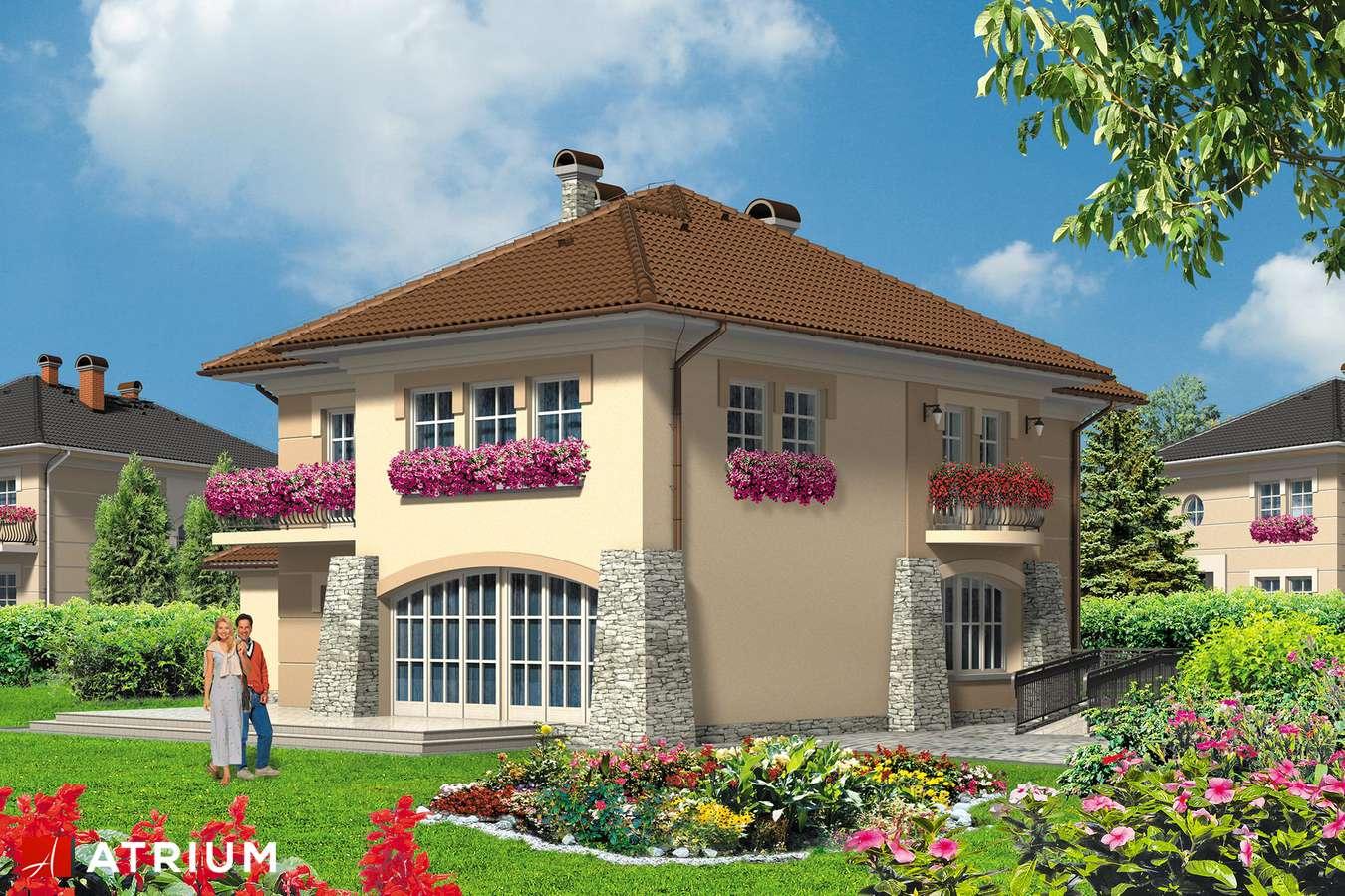 Projekty domów - Projekt domu piętrowego VILLA MEDICA - wizualizacja 2