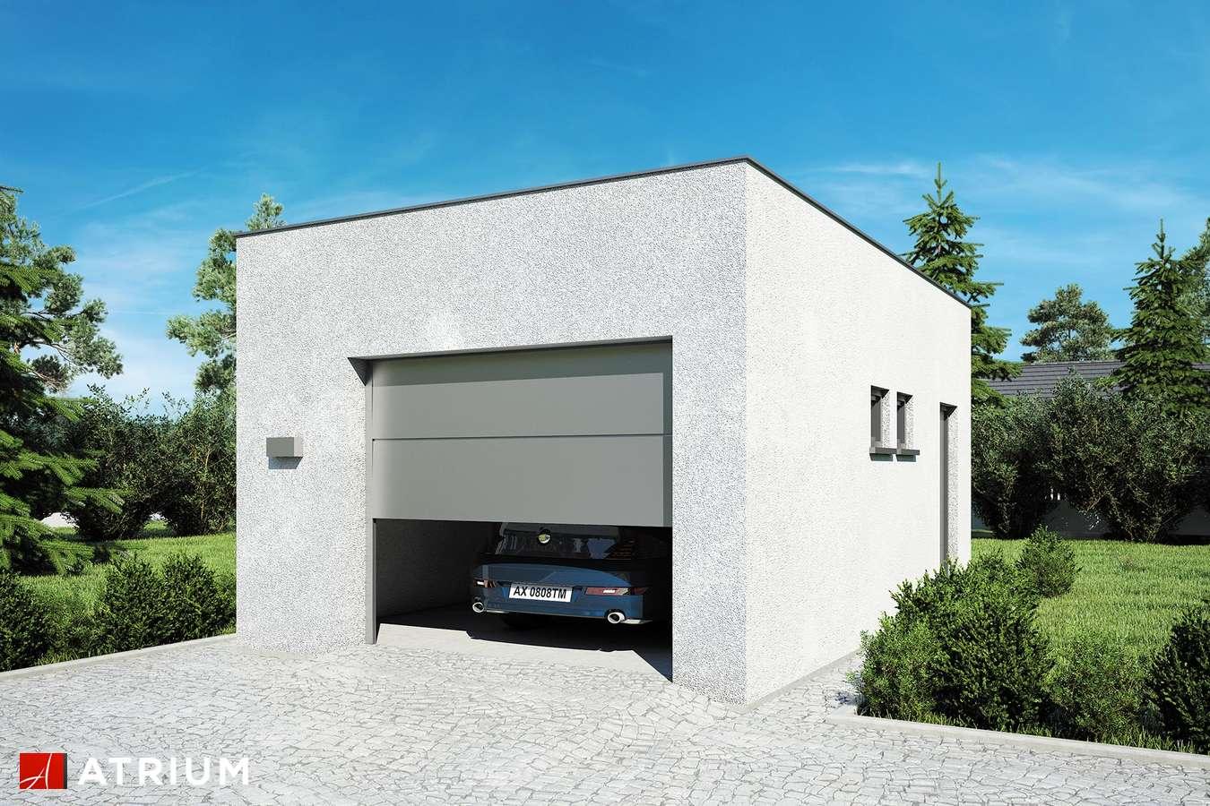 Garaż Z 25 - wizualizacja 1