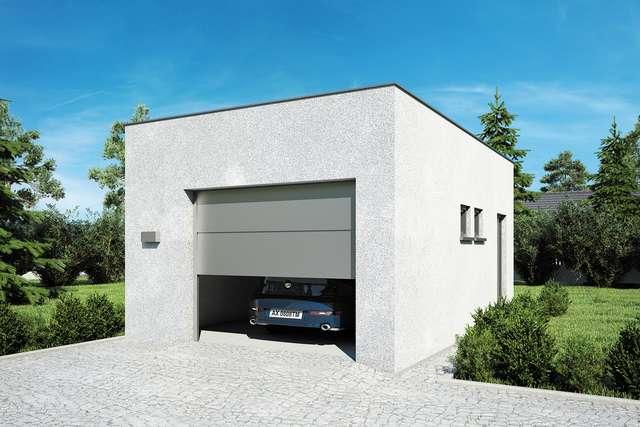 Projekt garażu Z 25