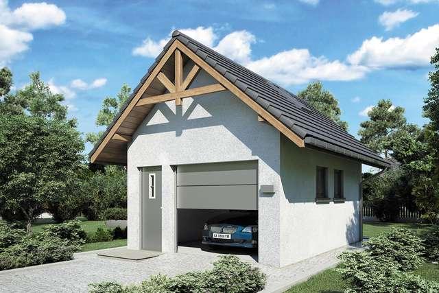Projekt garażu Z 26