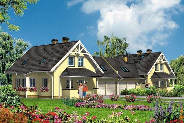 Projekt domu Dobrana Para