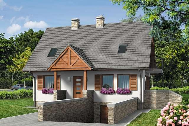 Projekt domu Rumiankowa Chata Bis