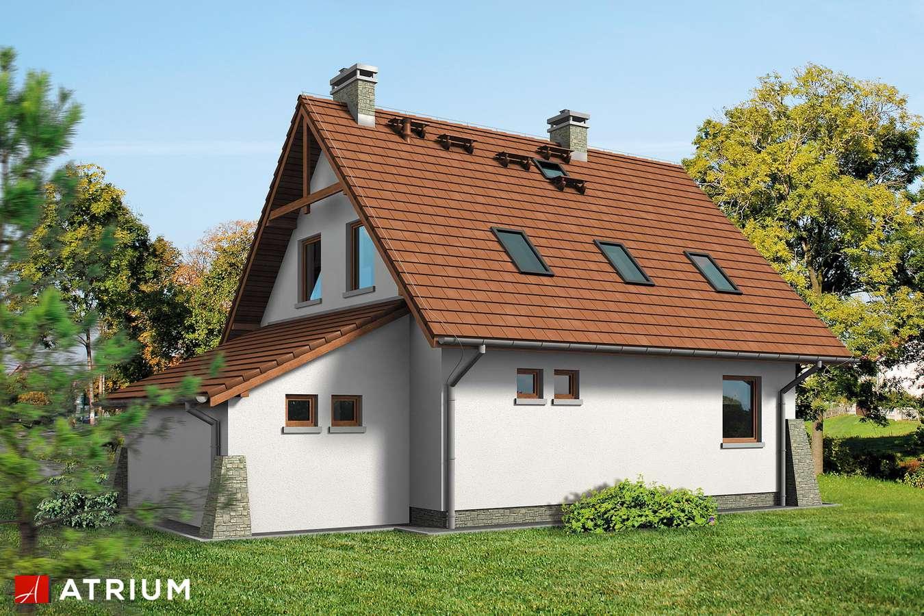 Projekty domów - Projekt domu z poddaszem DOBRY DUCH BIS - wizualizacja 2