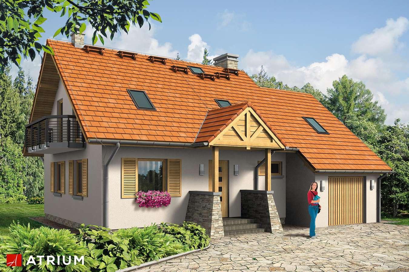 Projekty domów - Projekt domu z poddaszem WALCZYK BIS - wizualizacja 1