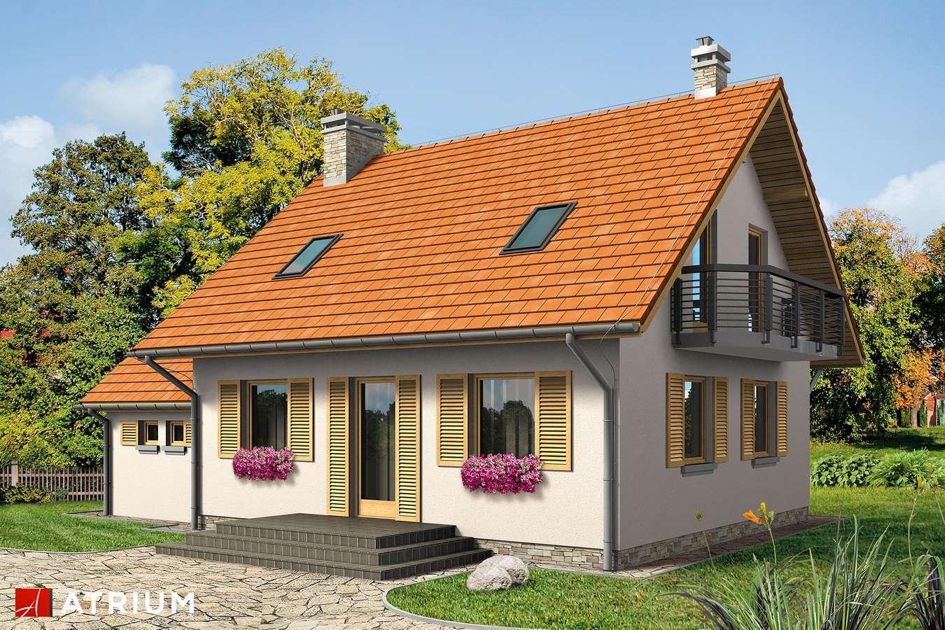 Projekty domów - Projekt domu z poddaszem WALCZYK BIS - wizualizacja 2