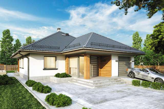 Projekt domu Modelowy