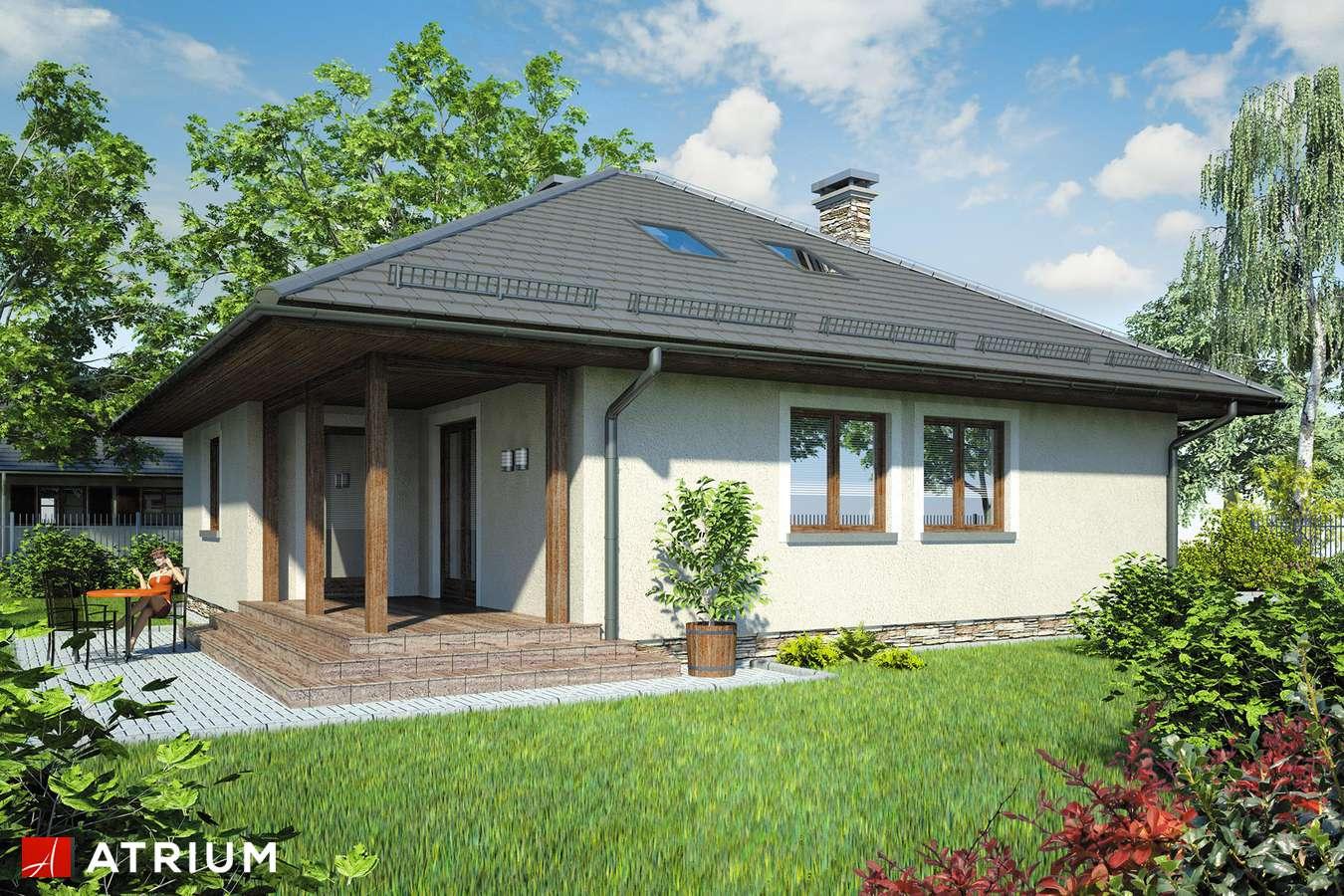Projekt domu z poddaszem PELIKAN BIS - wizualizacja 2